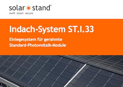 Produktblatt Indach-Solaranlage ST.I.33